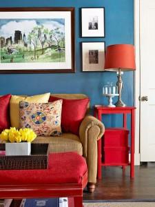 как освежить интерьер гостиной