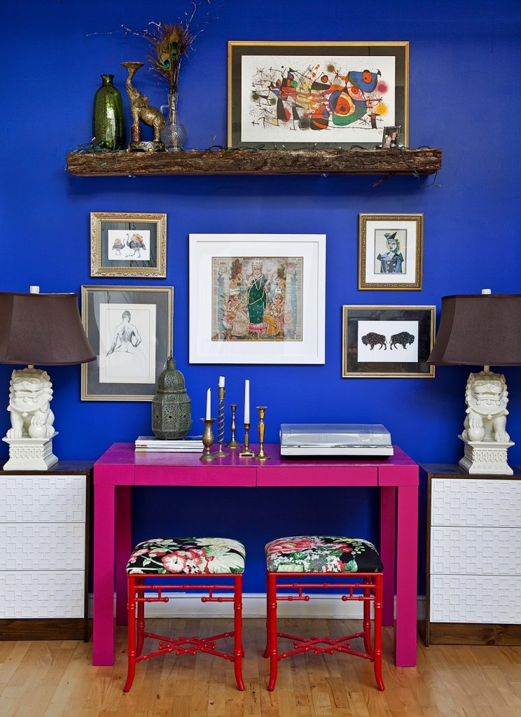 interior-decoration-ideas-outstanding-girl-home-office-decoration-by-lili-diallo-using-navy-blue-wall-paint-including-rectangular-pink-desk-and-red-iron-flowery-side-chair-fabulous-lili-diallo-home-i