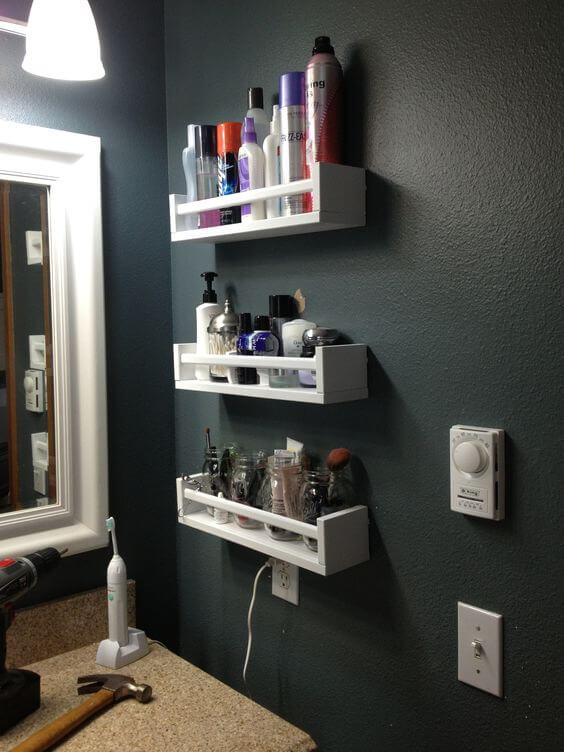 Лайфхаки для ванной комнаты