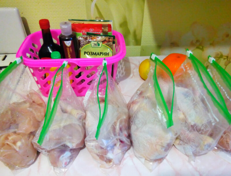 Готовка впрок: 6 маринадов для курицы, которые можно заморозить